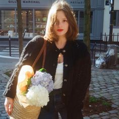 Hydrangeas January 24 2020 at Slow Fashion, 90s Fashion, Spring Fashion, Girl Fashion, Autumn Fashion, Fashion Outfits, Classic Style, My Style, Camille