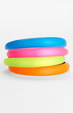 NEONS !                                            Alexis Bittar Tapered Bangle