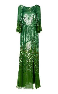 Temperley London celestial embellished dress