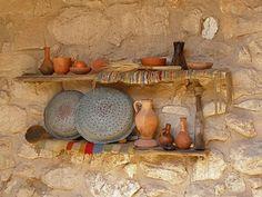 Domestic utensils at Nazareth Village (Seethe holyland.net)