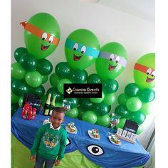 """33 curtidas, 1 comentários - @garciaevents no Instagram: """"Ninja turtle birthday party   Www.garciaevents.nl  Info@garciaevents.nl Garciaevents…"""""""