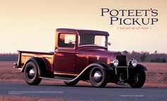 Rodder's Journal Issue #51 George Poteet 1934 Ford Pickup