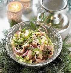 Eat Smarter, Potato Salad, Seafood, Cabbage, Potatoes, Vegetables, Ethnic Recipes, Christmas, Drinks