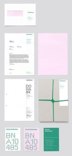 pale pink + broccoli green – BURO RENG – VISUAL COMMUNICATION –