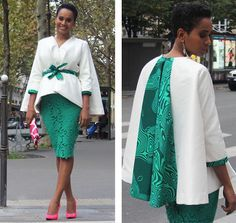would love this in another African color print.