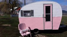1954 Arrow converted to a mobile shop! It's for sale and it's PINK people!