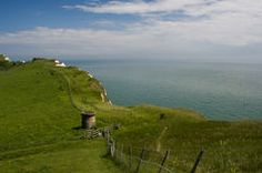 The white cliffs of Dover, Kent, U.K Royalty Free Stock Images