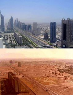 Dubaï 1990 > Dubaï 2010: incredible!