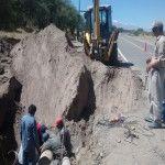 Crecidas en los ríos de Santa María produjeron daños a la red de agua potable