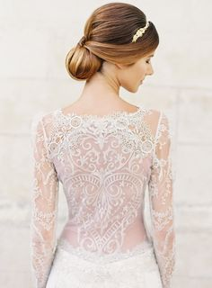 Sinclair Atelier Couture Designer Wedding Dress by Claire Pettibone