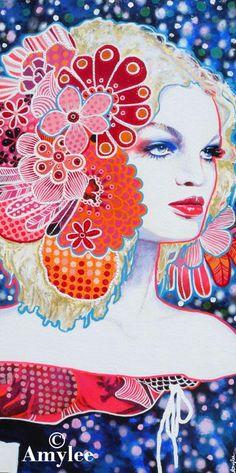 Painting Amylee Paris - http://pinterest.com/amyleeparis/art-amylee-paris/
