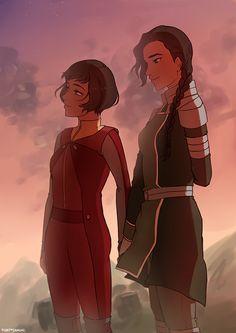 Almost Sisters   Opal & Kuvira   Legend of Korra   Avatar