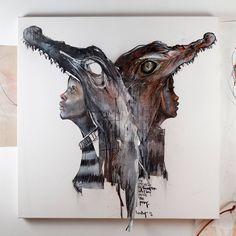 Les Oeuvres murales du Duo Herakut (2)