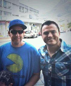 Adam Sandler and me
