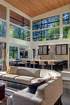 Seattle, Washington – based architecture firm McClellan Architects recently designed this stunning modern single family residence.