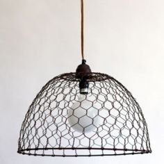 Industrial Basket Pendant to add Rustic Touch to the  Kitchen | Barn Light Electric