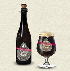 *Had this limited edition seasonal by Muskoka Brewery this Christmas. Dark, heavy, and sweet. Quite an interesting taste, but it was quite good!*  Muskoka Winter Beard Double Chocolate Cranberry Stout - for Ru- yummy!