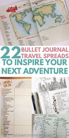 Is your goal to travel? Then you'll love these great BULLET JOURNAL TRAVEL log layout ideas and spreads. Let me take you on a journey from a bucket list wishlist, to an itinerary tracker and map page in your travelers notebook, to saving up the budget, to