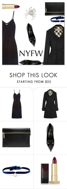 """""""Pack for NYFW"""" by danielle-487 ❤ liked on Polyvore featuring Reformation, Burberry, Victoria Beckham, Yves Saint Laurent, DANNIJO, Kevyn Aucoin and NYFW"""