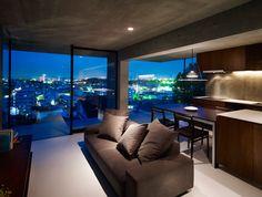 Contemporary living area...