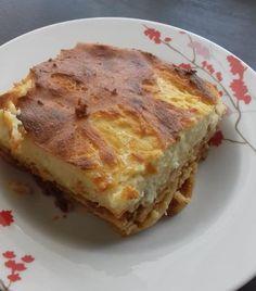 Νόστιμο σπιτικό παστίτσιο Quiche, French Toast, Pasta, Breakfast, Food, Morning Coffee, Quiches, Meals, Noodles