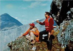 How to Survive a Crash - Irv Talleur and Gil Mull, enjoying their work in the DeLong Mountains of Alaska's Brooks Range, July 1975.