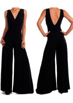 black is beautiful Mode Outfits, Chic Outfits, Fashion Outfits, Jumpsuit For Wedding Guest, Jumpsuit Elegante, Love Fashion, Womens Fashion, Cute Summer Outfits, Look Chic