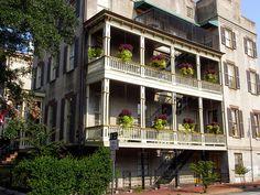 Side porches… Savannah, GA