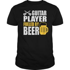 Guitar Player Fueled By Beer