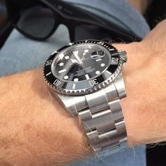 Summertime!  by tingsweden #rolex #submariner