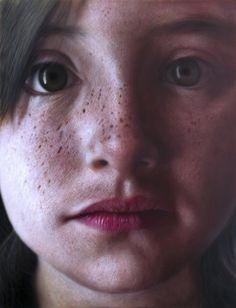 "kamalky laureano, ""Paulina"" acrylic on canvas 2010,  5.9 feet x 4.6 feet"