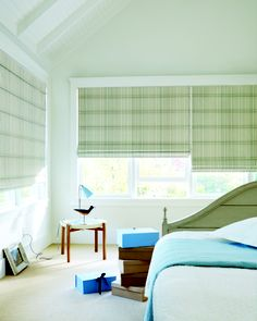Design Studio™ Roman Shades from Hunter Douglas-available at State Street Interiors Bettendorf IA