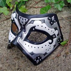 Merimask - White and Black Persian Mask by merimask