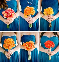 1000+ images about Royal Blue & Orange Wedding on ...