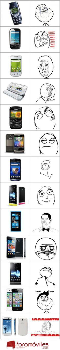 JUAS! Meme de móviles!