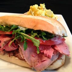 Slow-Roasted Beef for Sandwiches by B.D. Weld @allrecipes  The perfect roast beef for the perfect sandwich! #myallrecipes #AllrecipesAllstars #roastbeef #beef