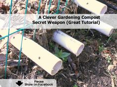 A Clever Gardening Compost Secret Weapon - http://www.hometipsworld.com/a-clever-gardening-compost-secret-weapon.html