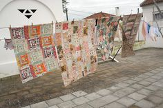 mantas | quilts by Rosa Pomar, via Flickr