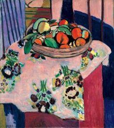 Henri Matisse, Corbeille d'oranges (1912)(France)