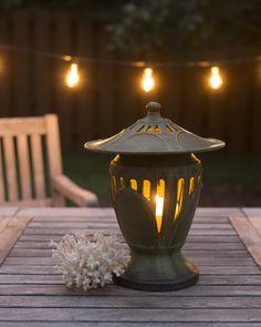 The Journey Ceramic Lantern - Ephraim Pottery Raku Pottery, Slab Pottery, Pottery Art, Thrown Pottery, Ceramic Lantern, Ceramic Art, Ceramic Bowls, Lantern Candle Holders, Candle Lanterns