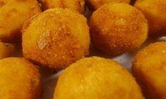 Πατατούλες σαν κεφτεδάκι για σούπερ μπουφέ σε πάρτι (vid) Sweet Potato, Muffin, Potatoes, Vegetables, Breakfast, Food, Morning Coffee, Potato, Essen