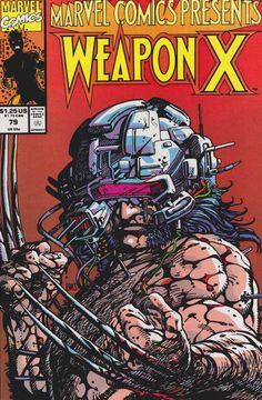 Marvel Comics Presents: Weapon X (1991) by Barry Windsor-Smith