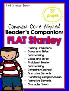 $This resource is intended to support your students and the development of their reading comprehension skills. Skills that are addressed: Making predictions Cause and Effect Summarizing Problem/Solution Compare/Contrast Narrative Elements Monitoring Comprehension Character Sketch