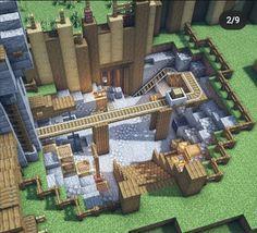 Minecraft Farm, Minecraft Images, Minecraft Mansion, Minecraft Cottage, Easy Minecraft Houses, Minecraft House Tutorials, Minecraft Plans, Minecraft House Designs, Minecraft Survival