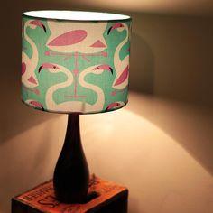 Flamingo Print Designer Lamp Shade