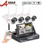 4CH HD 720P WIFI Wireless IP Camera System P2P CCTV Outdoor Security Video LCD