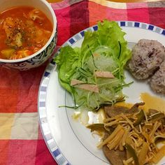 レバーの甘酢あんかけ*春雨サラダ*トマトスープ*雑穀米 - 8件のもぐもぐ - 夕ご飯 by karintou2525