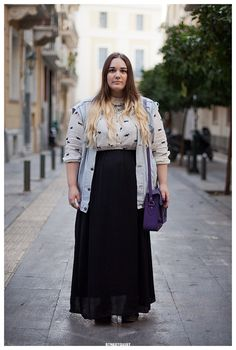 Marikrista in Athens Street Style Portrait