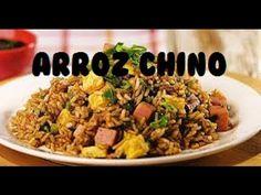 Arroz chino frito en casa Fácil delicioso - YouTube