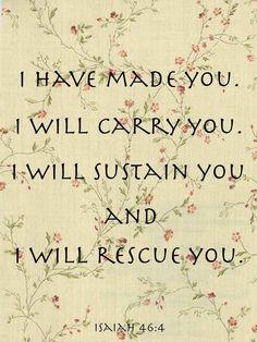 Prairie Romance...Isaiah 46:4